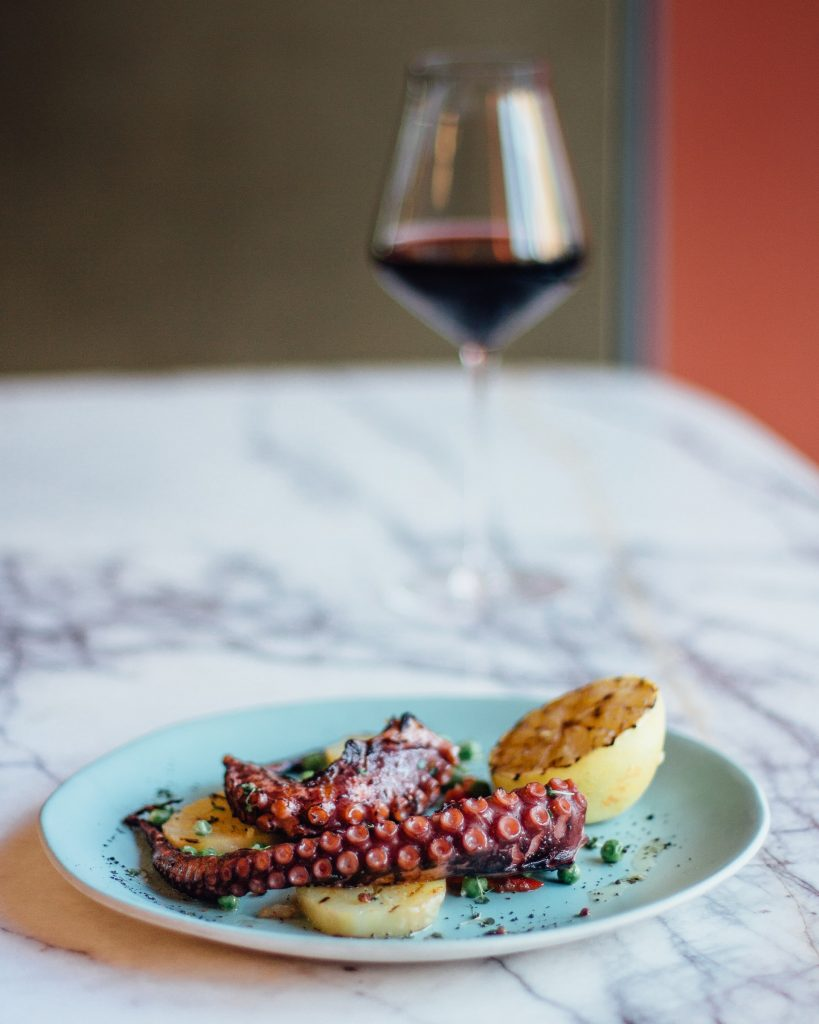 grilled octopus wine pairing