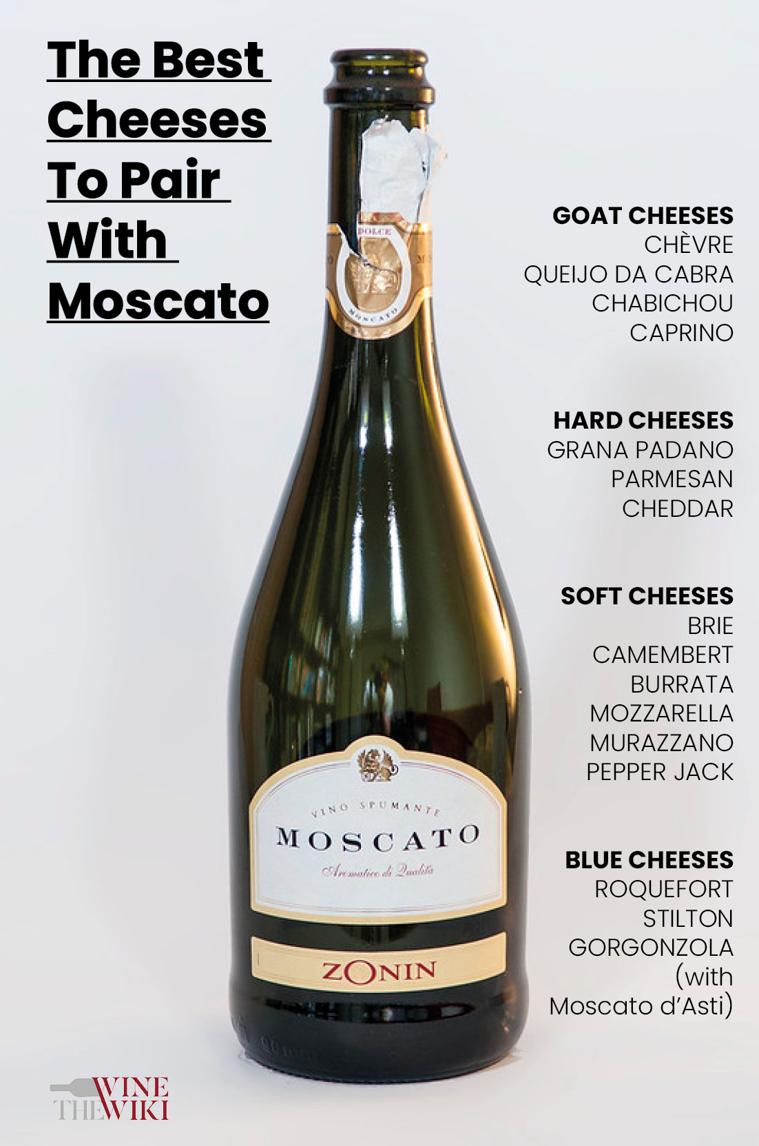 Moscato cheese pairing: a gourmet's guide [infographic]