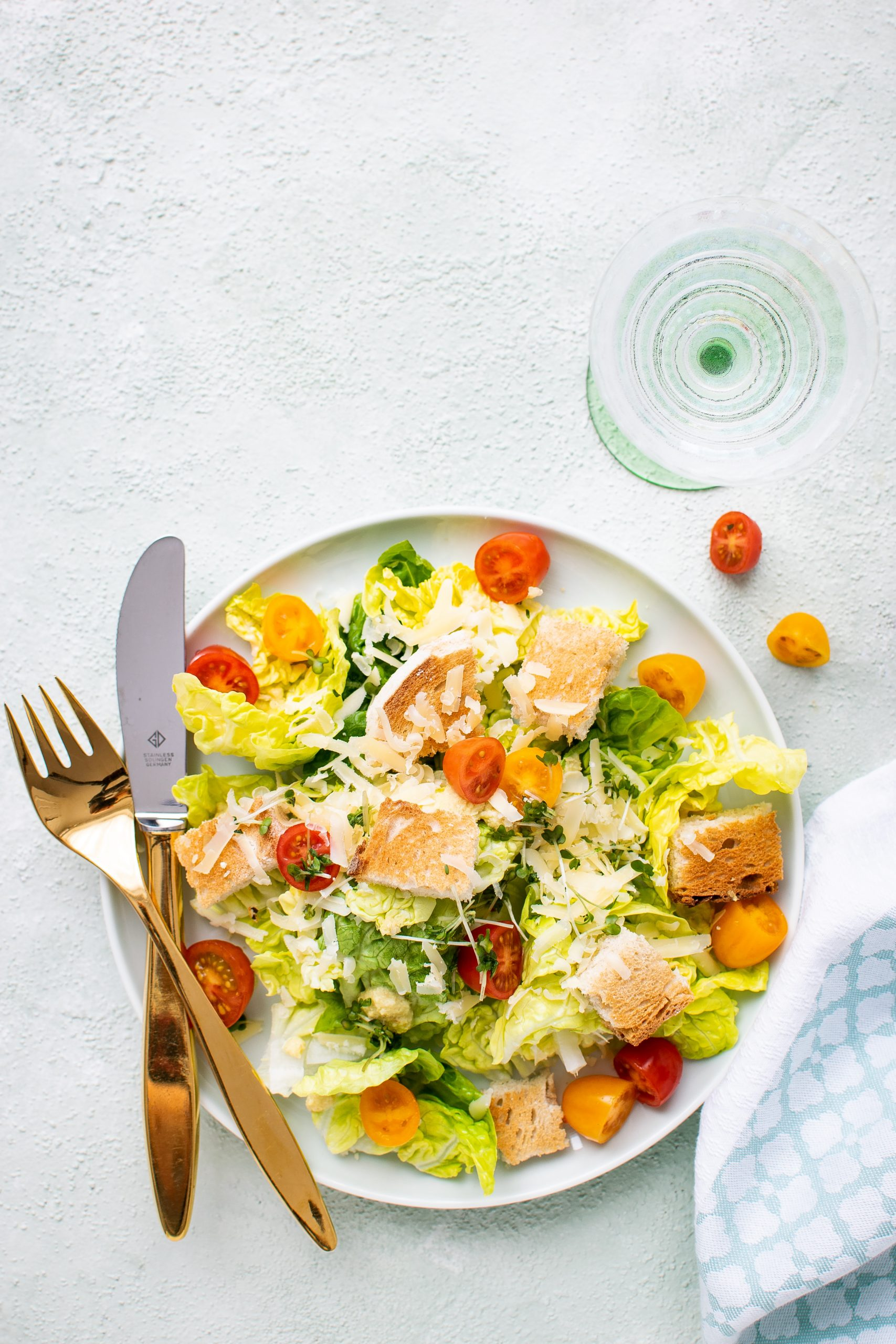 Caesar Salad Wine Pairing: with salmon or with chicken